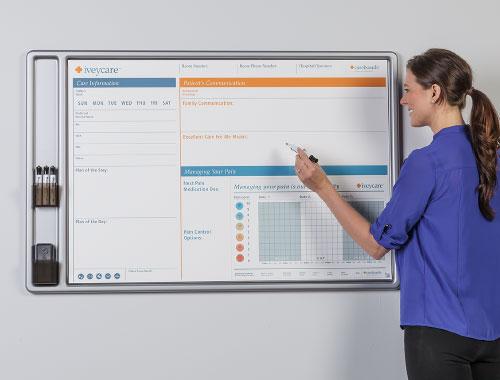 large communication board