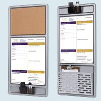 hospital communication board customization