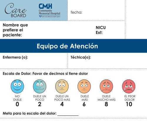 spanish translation hospital whiteboard graphic